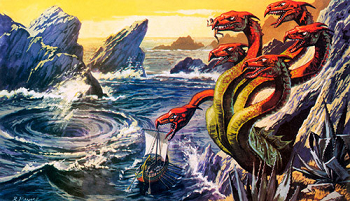 Photo of Scylla and Charybdis