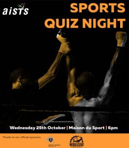 2017 AISTS Sports Quiz