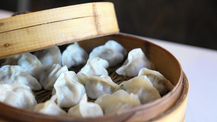 Warm up with these dumplings from chinatown, hyde park