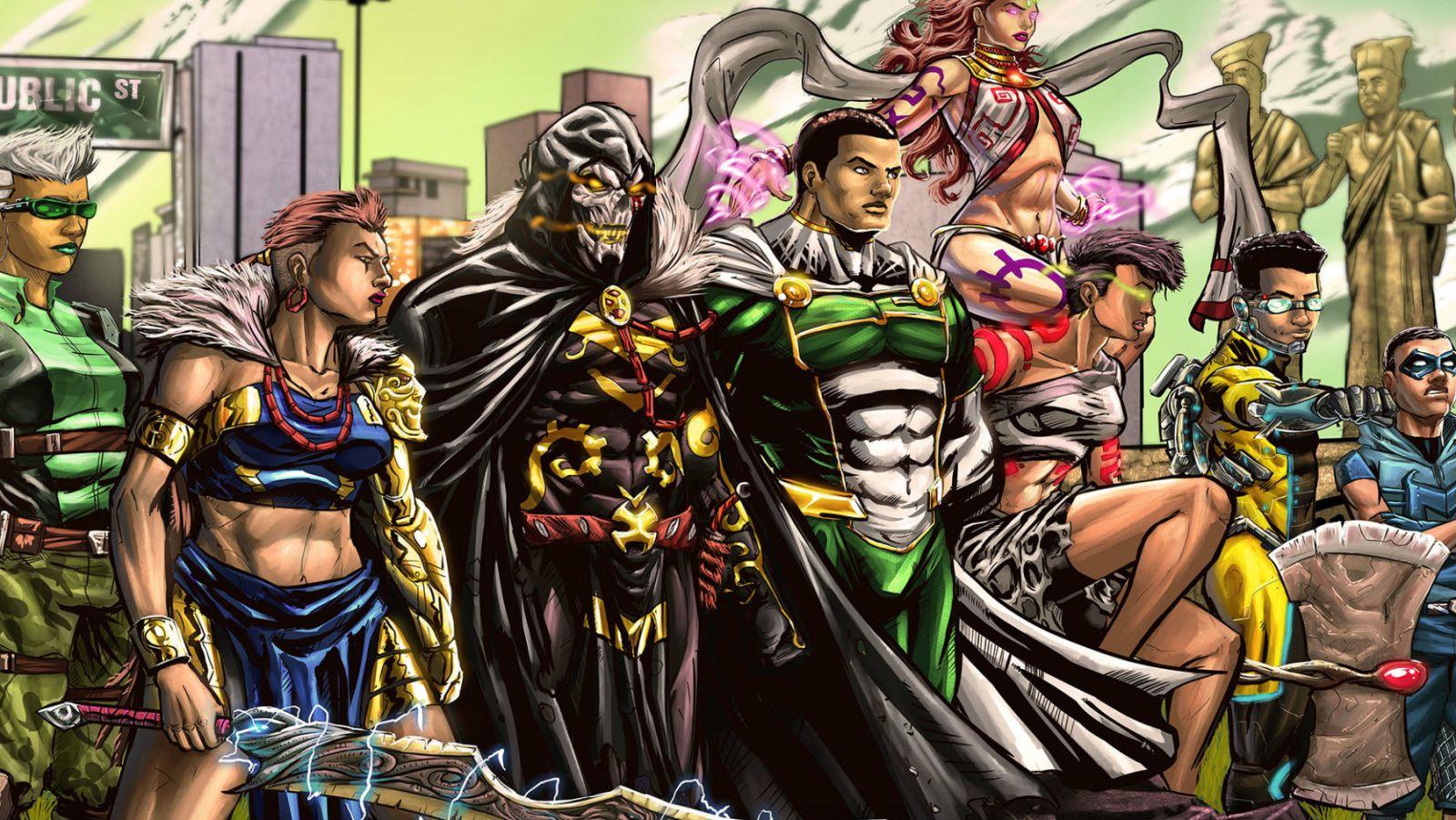 Nigerian Comics Startup Creating African Superheroes