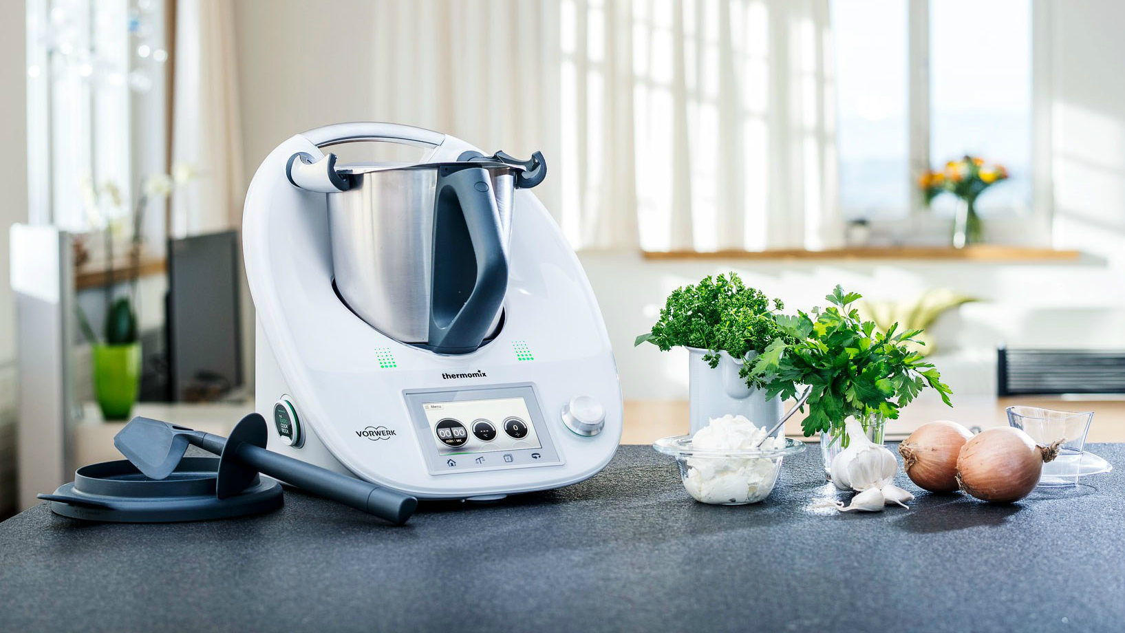 refrigerator for small kitchen heavy duty faucet thermomix, vorwerk's $1,450 appliance, is coming ...