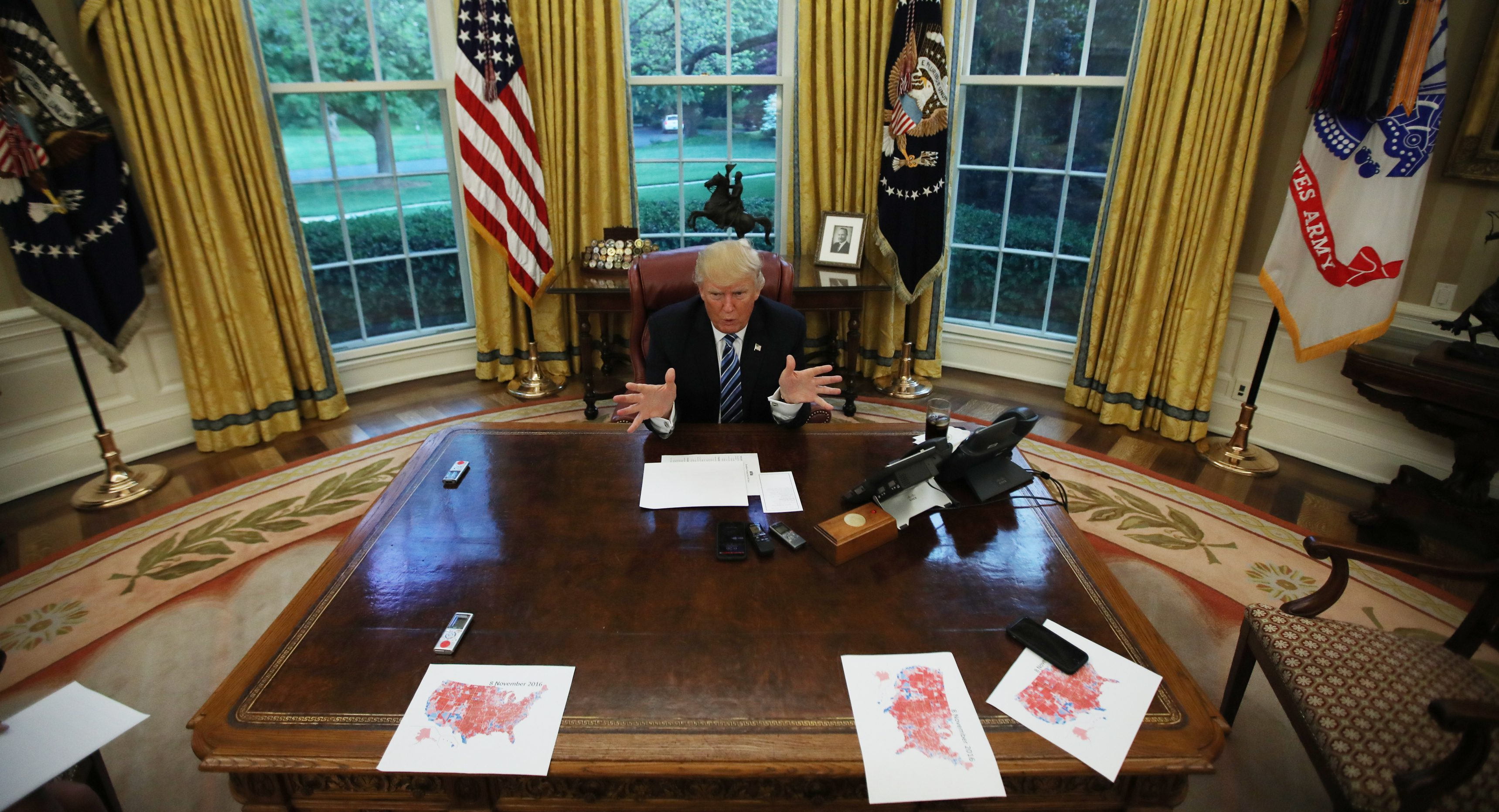oval office chair b and q garden covers trump at 100 days an photo perfectly