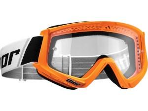 otroška motokros očala thor combat youth oranžna