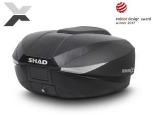 Sredinski kovček SHAD SH58X top case CARBON r-2-r.si