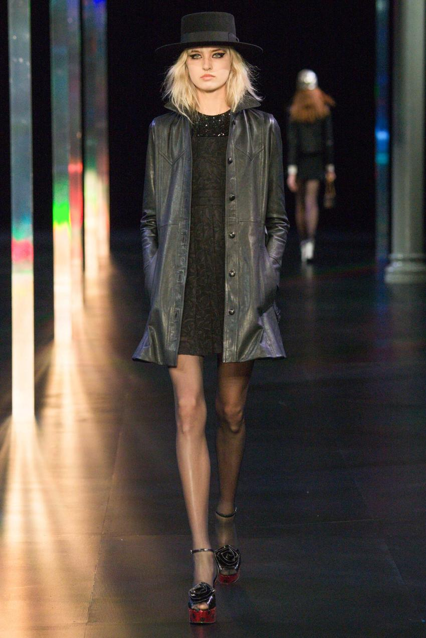 Saint Laurent Spring 2015 Paris Fashion Show