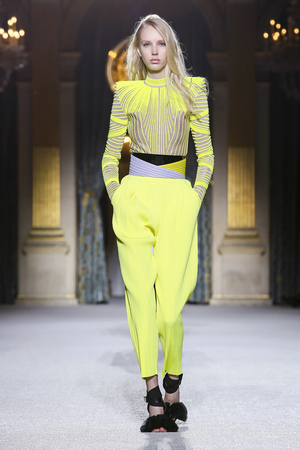 Balmain Fall 2018 Paris Fashion Week Show.