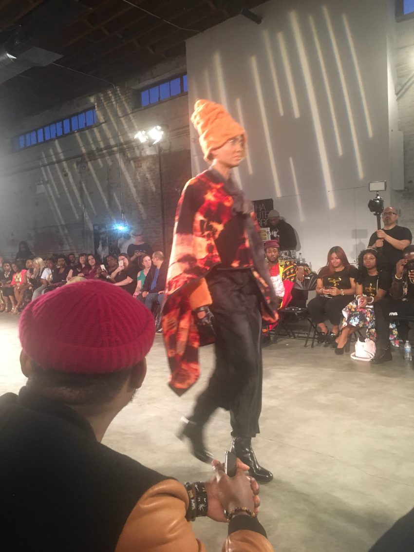 Design in Textiles by Mary Jaeger Fashion Week Brooklyn Show