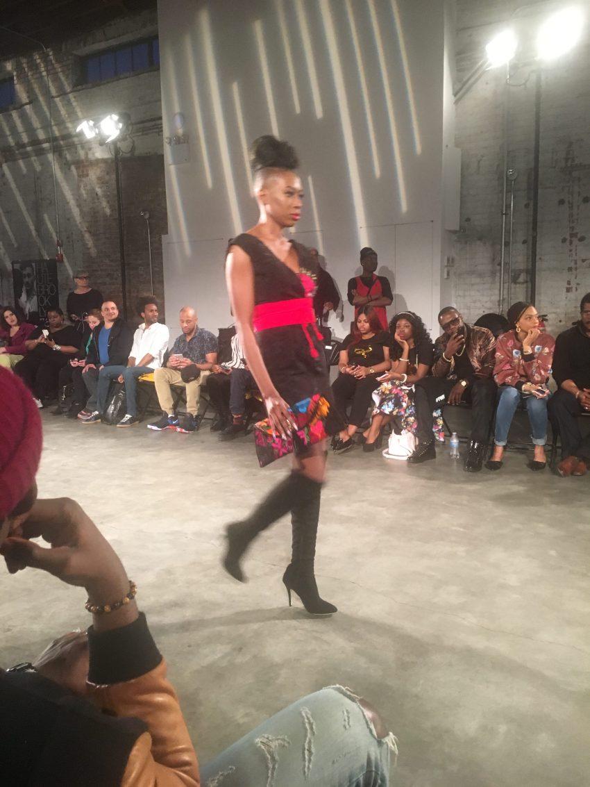 Hileeyn Vargas Fashion Week Brooklyn Show