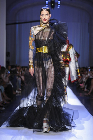 Jean Paul Gaultier Fall 2017 Couture Week Show