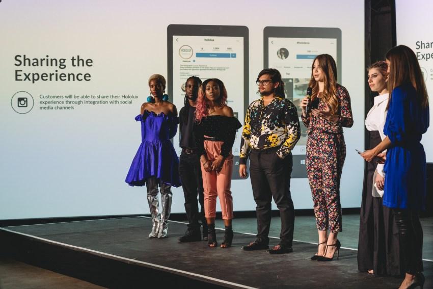 Microsoft X London College of Fashion Future of Fashion Incubator Showcase