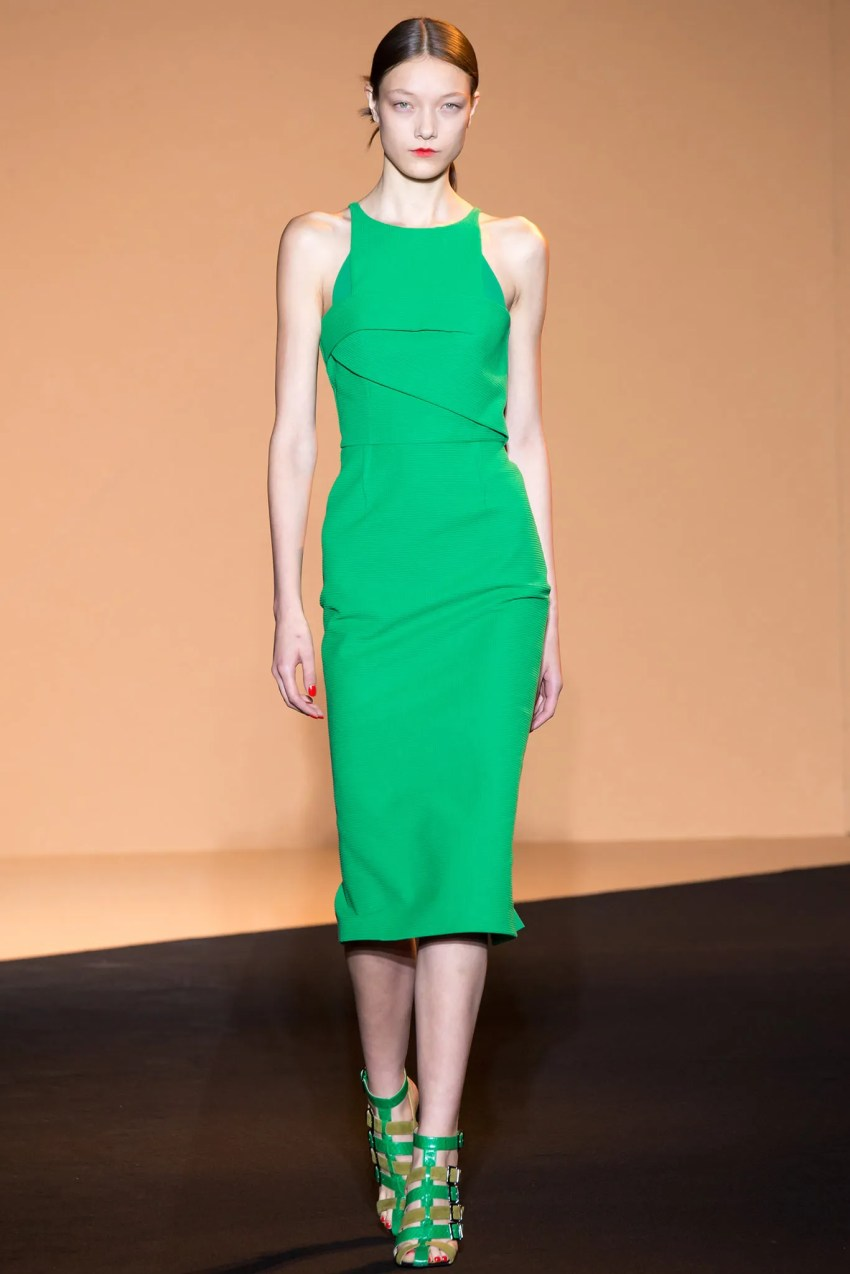 Roland Mouret Spring 2015 Paris Fashion Show