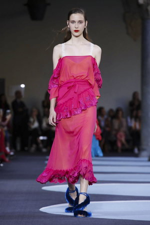 Marco de Vincenzo Spring 2018 Milan Fashion Week Show