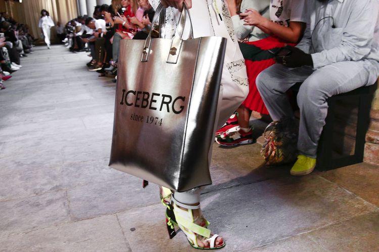 Iceberg Spring 2019 Milan Fashion Week Show.