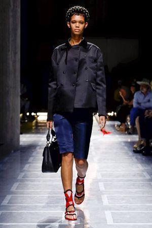 Prada Spring 2019 Milan Fashion Week Show.