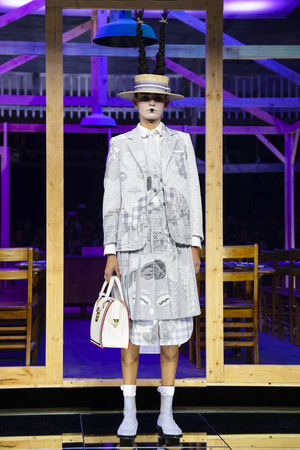 Thom Browne Fashion Show Ready to Wear Collection Spring Summer 2016 in New York