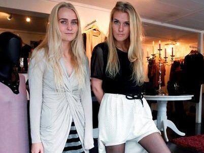 Katrin Alda and Rebecca Rafnsdóttir.
