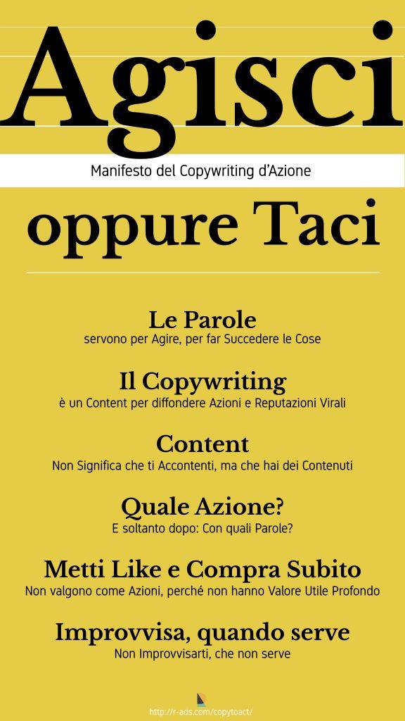 Manifesto Copywriting d'Azione