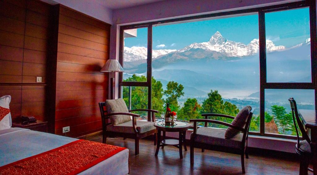 Himalayan Front Hotel By Kgh Group Pokhara Nepal Booking Com