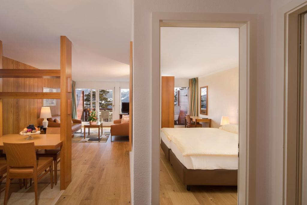 Hotel Helvetia Intergolf Crans Montana Switzerland
