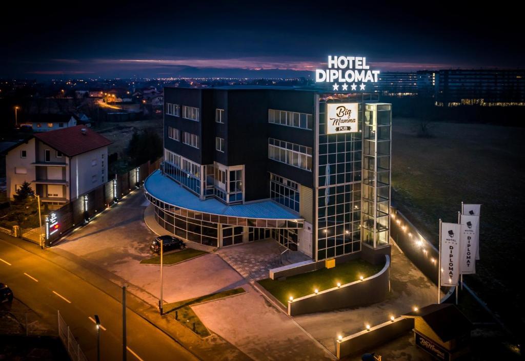 Hotel Diplomat Zagreb Croatia Booking Com