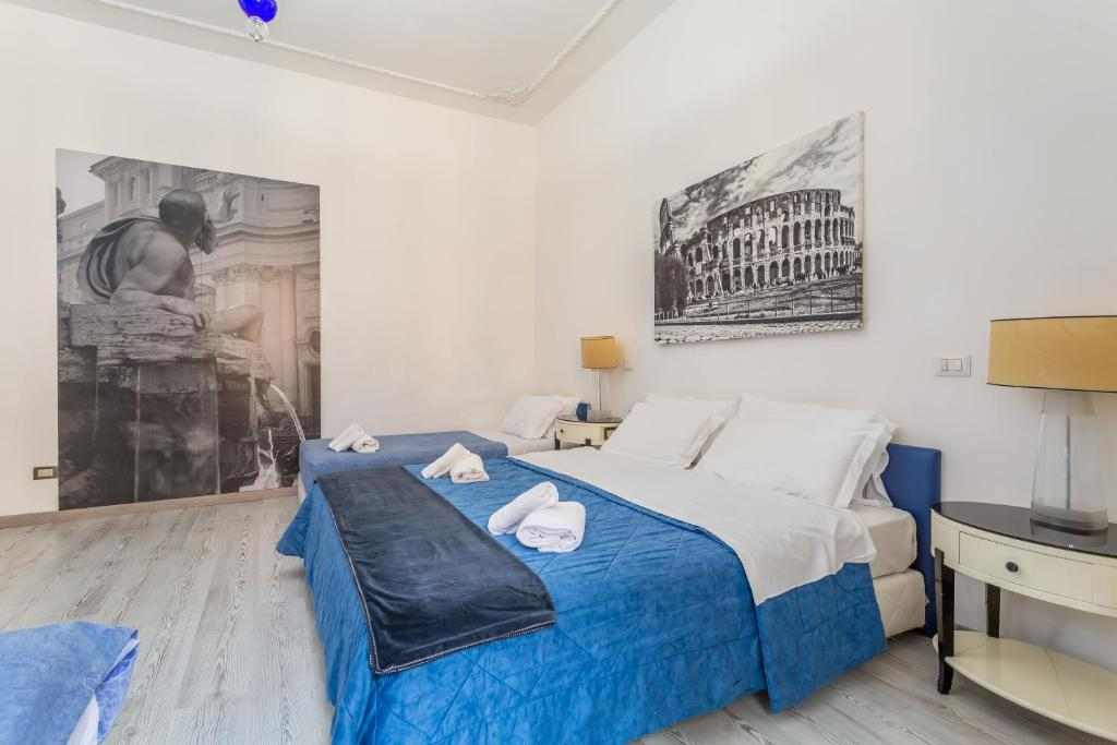 Guesthouse Deluxe Rooms Rome Italy Booking Com
