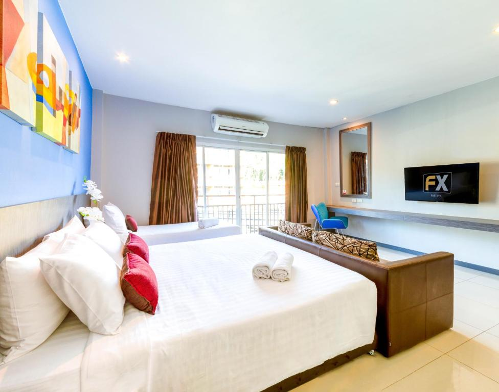 Fx Hotel Pattaya Pattaya South Thailand Booking Com