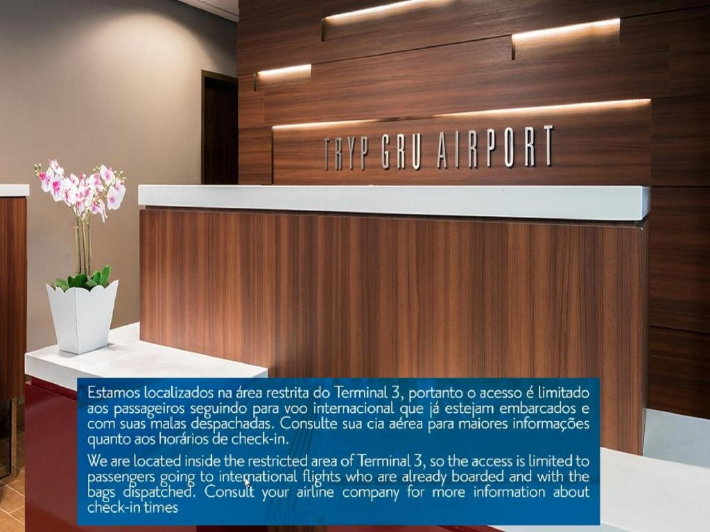 Hotel Tryp Transit Sao Paulo Airpor Guarulhos Brazil