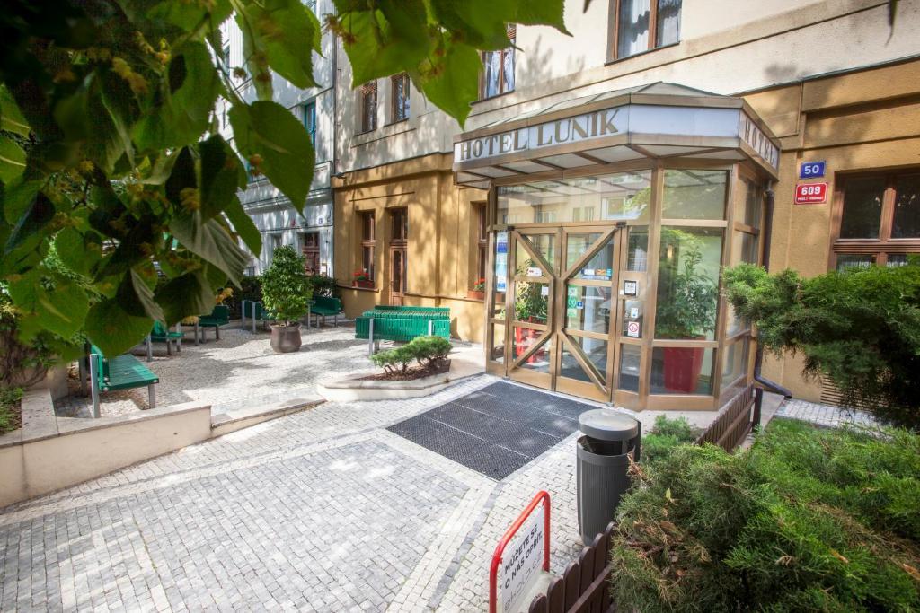 Hotel Lunik Prague Czech Republic Booking Com