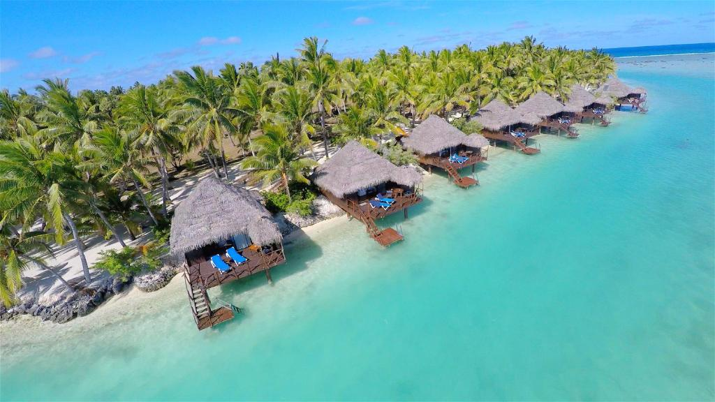 Resort Aitutaki Lagoon Private Island Reso, Arutanga, Cook Islands ...