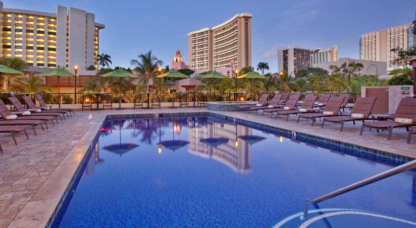 Holiday Inn Resort Waikiki Beachcomber, Green Hotel Hawaii