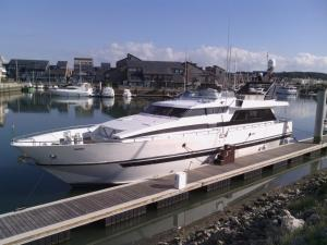 Yacht Saphir, Deauville