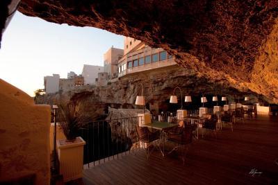 Hotel Grotta Palazzese Polignano a Mare Italy  Bookingcom