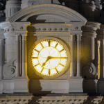 Philadelphia - City's Hall Clock