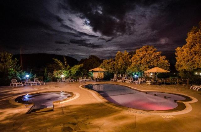 A view of the pool at Sentrim Mara Camp or nearby
