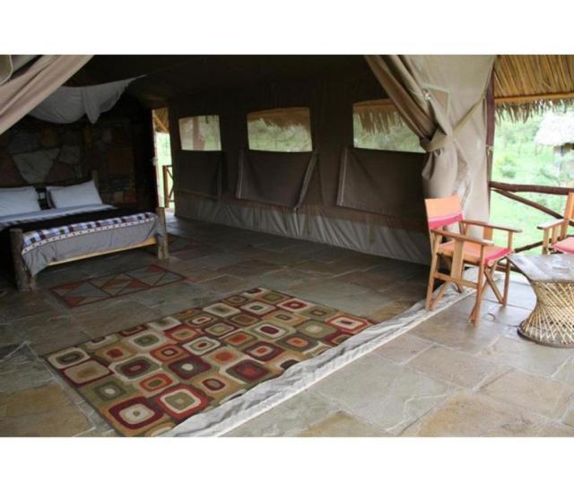 A seating area at Sentrim Mara Camp