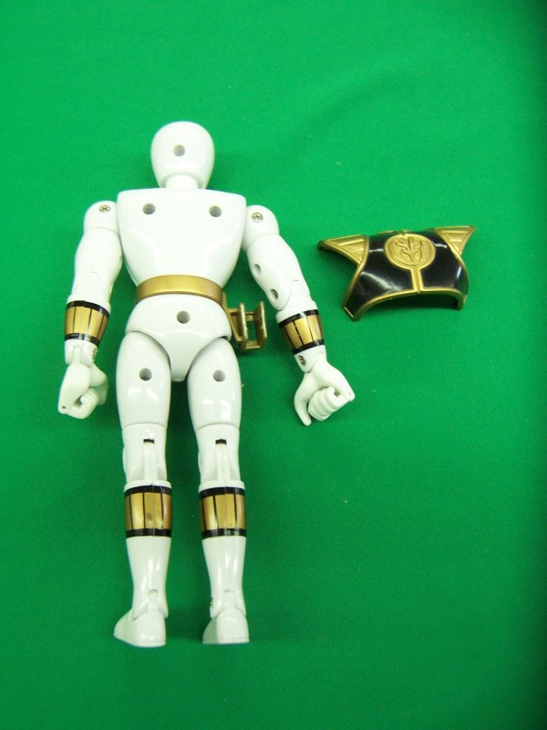 Mighty Morphin Power Rangers Toy White Tiger Zord And