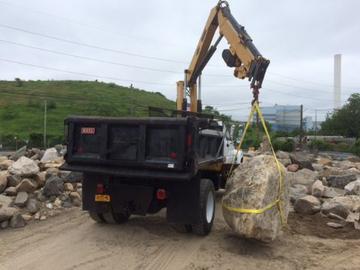 landscape rock boulder material