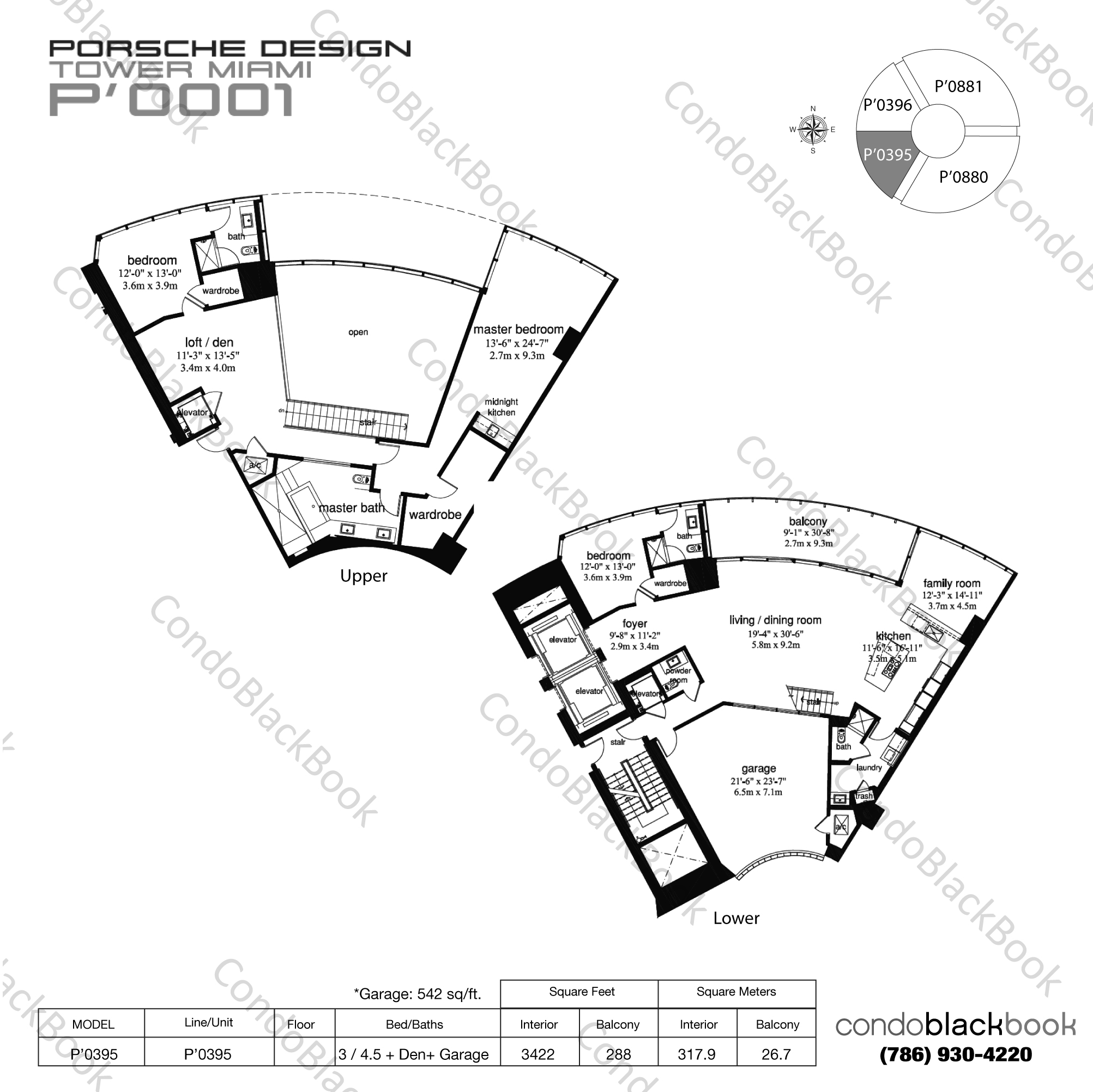 Porsche Design Tower Unit #4803 Condo for Sale in Sunny