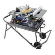 Mastercraft 15a Table Saw With Stand 10 In