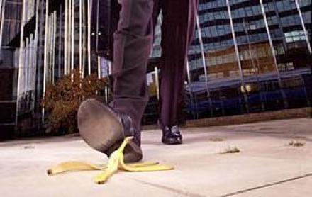 Image result for slip by banana peel