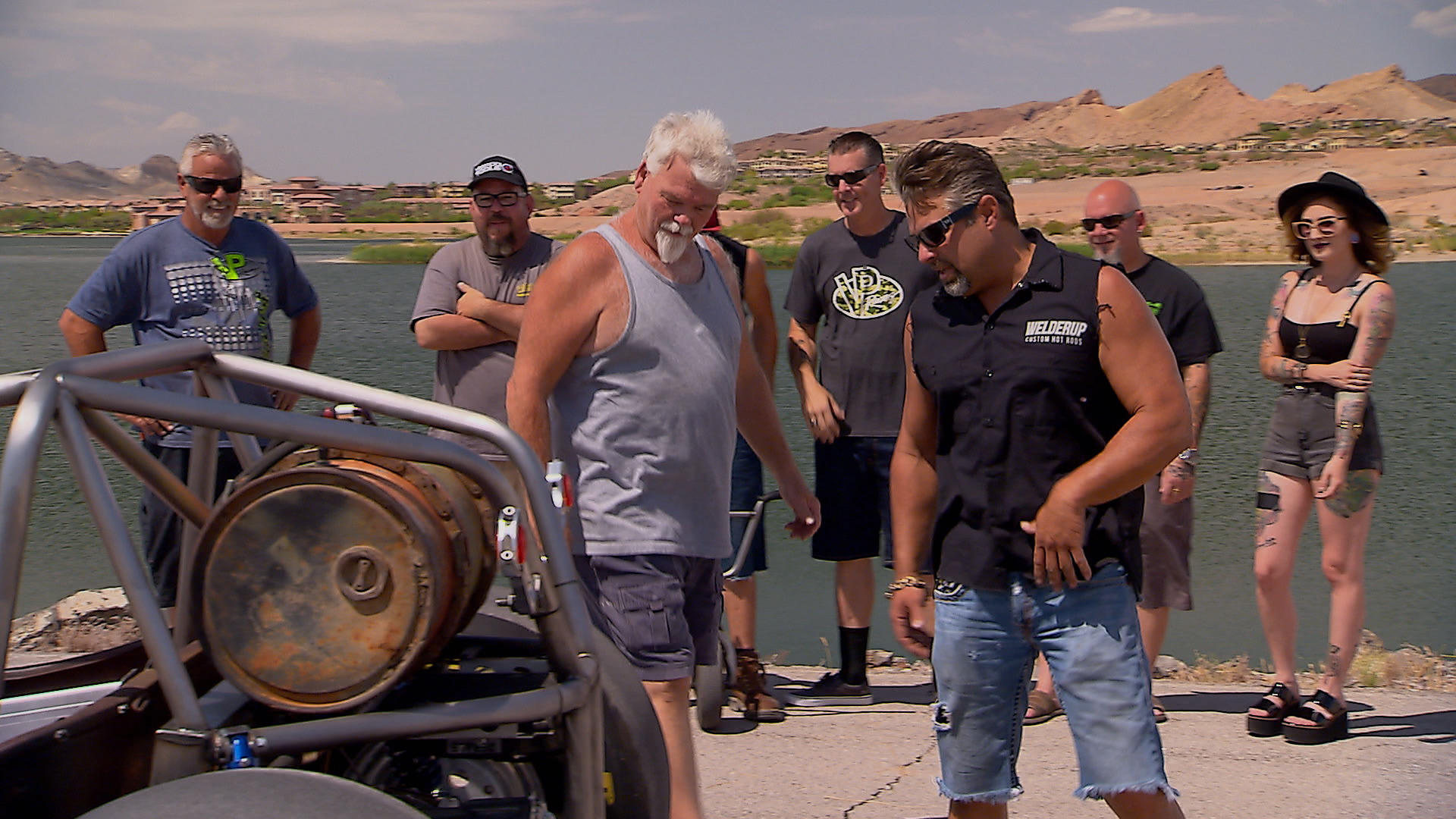 Crazy Cool Dune Rat  Vegas Rat Rods  Discovery