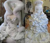 Blinged Out Wedding Dress - blinged out prom dresses ...