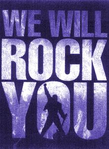 we will rock you show poster