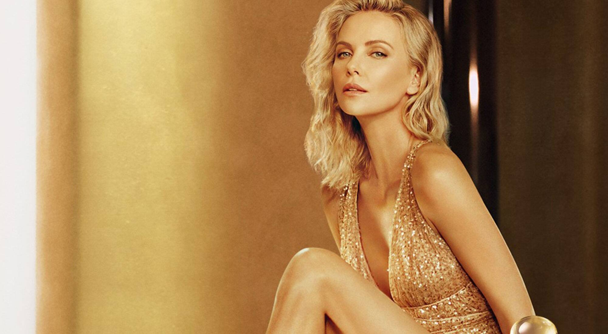 Charlize Theron a triumphant muse in the new campaign for Jadore Absolu by Parfums Christian Dior