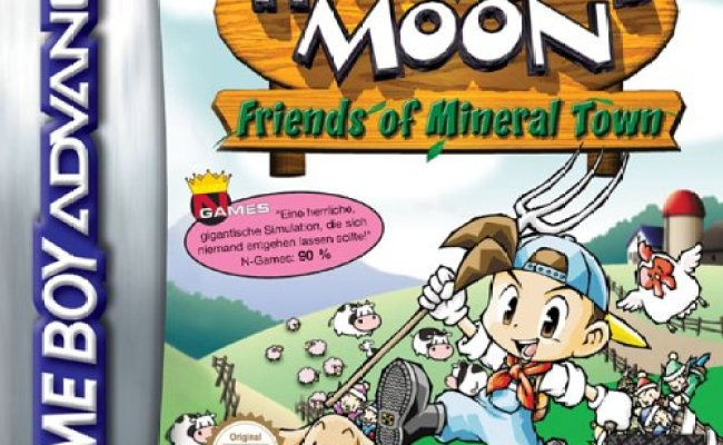 Harvest Moon Friends Of Mineral Town E Gba Rom