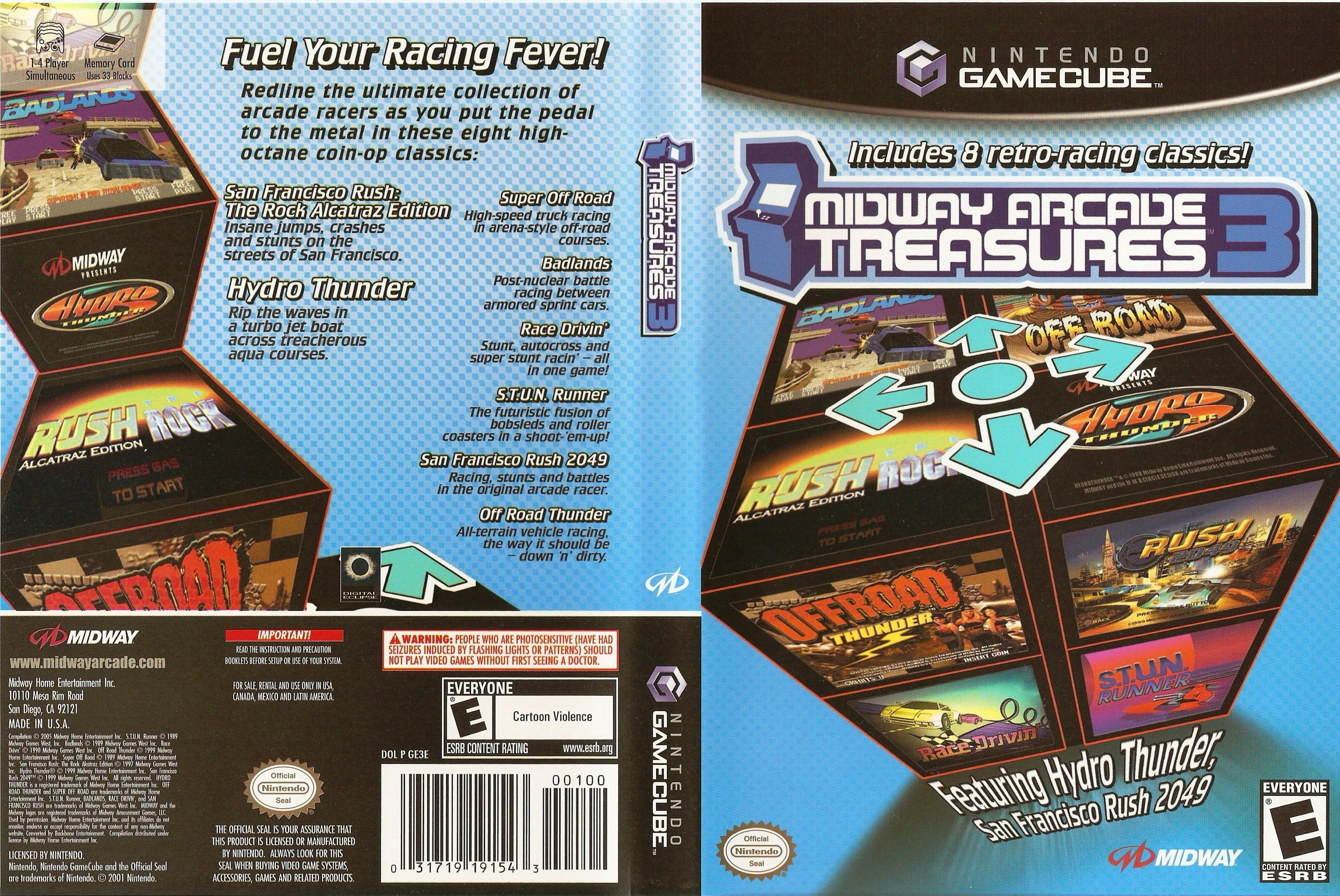 Midway Arcade Treasures 3 ISO