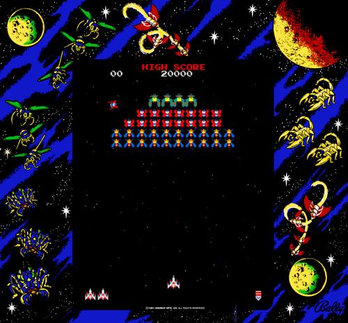 Galaga Namco rev B ROM