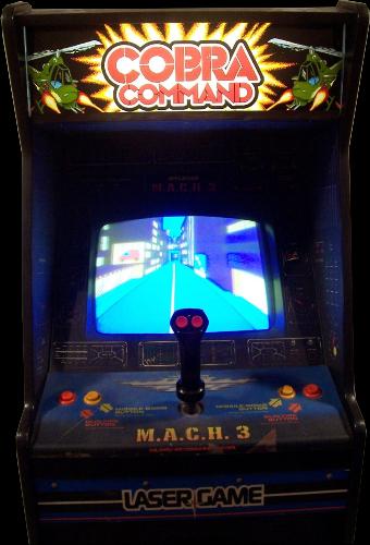 Cobra Command MACH 3 hardware ROM