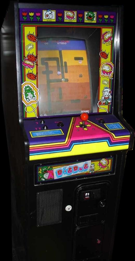Dig Dug Atari rev 2 ROM