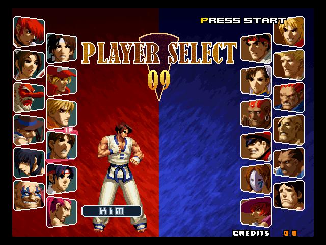 SNK vs Capcom SVC Chaos Bootleg ROM